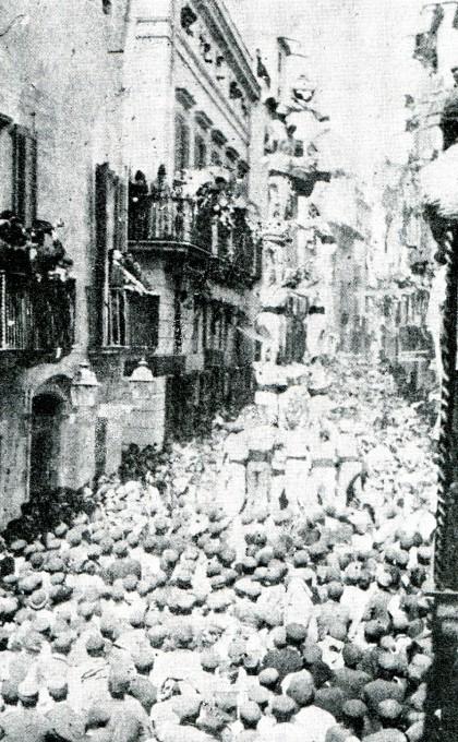 Vincles més que centenaris entre la Colla Vella i Vilafranca del Penedès