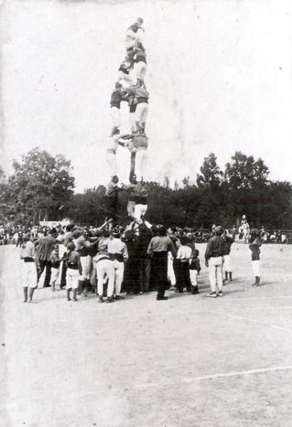 Barcelona, Concurs Regional de Xiquets de Valls (1902)