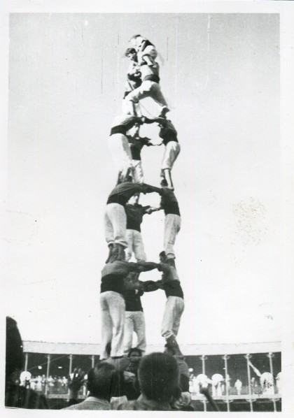 Tarragona, IV Concurs de Castells (1954)