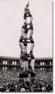 Tarragona, V Concurs de Castells (1956)