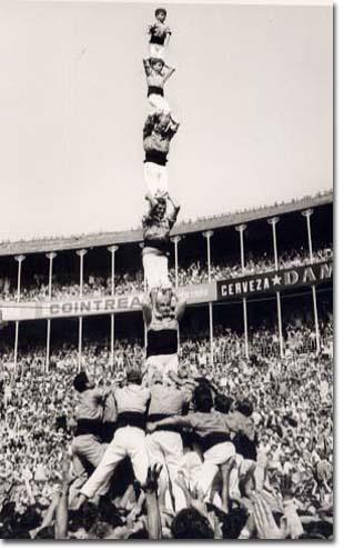 Tarragona, VI Concurs de Castells (1970)