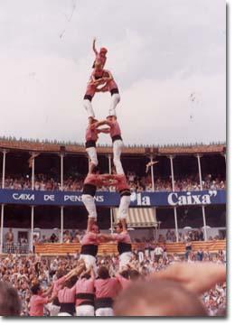 Tarragona, VIII Concurs de Castells (1980)