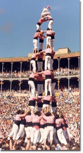 Tarragona, X Concurs de Castells (1984)