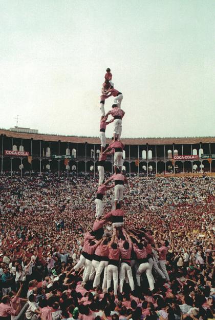 Tarragona, XII Concurs de Castells (1988)