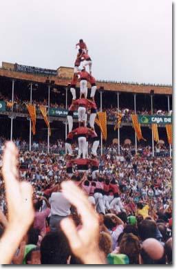 Tarragona, XIII Concurs de Castells (1990)