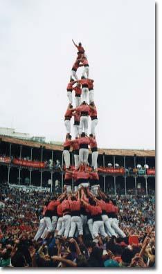 Tarragona, XIV Concurs de Castells (1992)