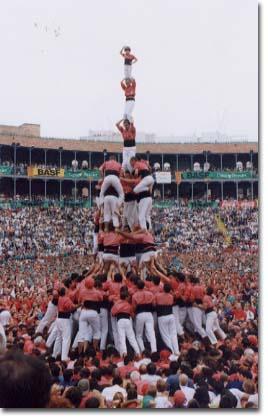 Tarragona, XVII Concurs de Castells (1998)