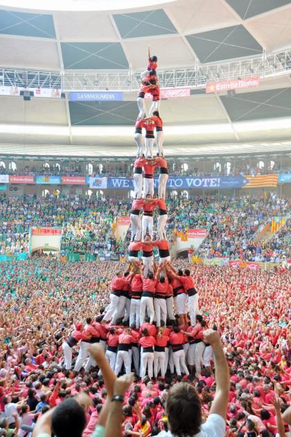 Tarragona, XXV Concurs de Castells (2014)