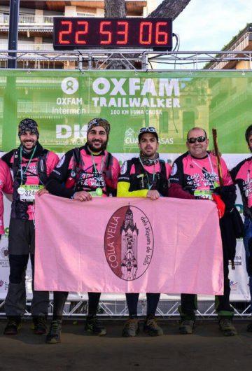La Vella recapta gairebé 2.000€ i completa amb èxit el Trailwalker de Girona