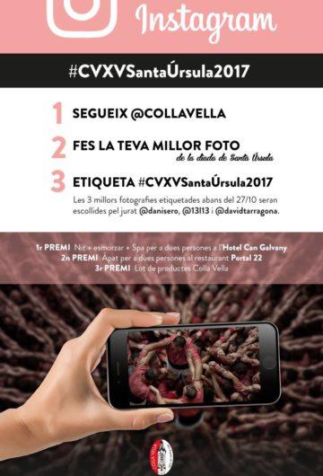 Fotoconcurs Instagram #CVXVSantaÚrsula2017