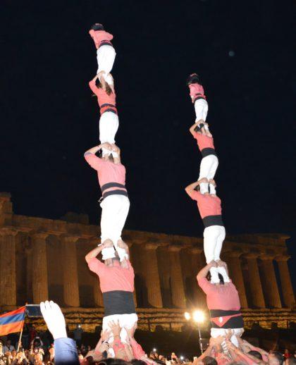 La Colla Vella dels Xiquets de Valls ja és a Agrigent