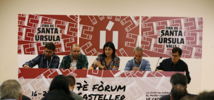 EL 8è SIMPOSI CASTELLER DE CATALUNYA DEFINIRÀ ELS VALORS DELS CASTELLS