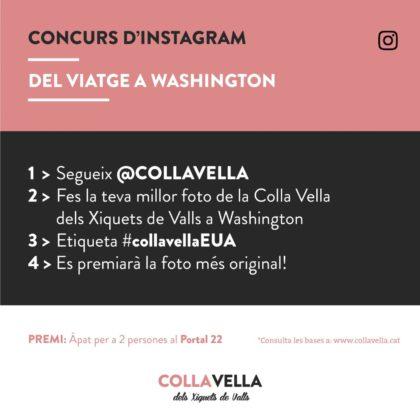 Concurs Instagram #CollaVellaEUA