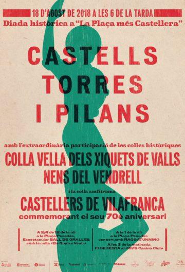 70 anys dels Castellers de Vilafranca