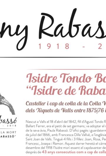 """Inaugurada l'exposició: Isidre Tondo Ballart """"Isidre de Rabassó"""""""