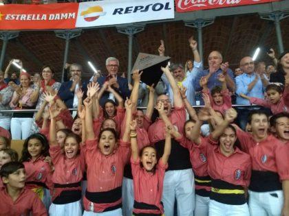 Colla Vella dels Xiquets de Valls CAMPIONA del XXVII Concurs de Castells de Tarragona!