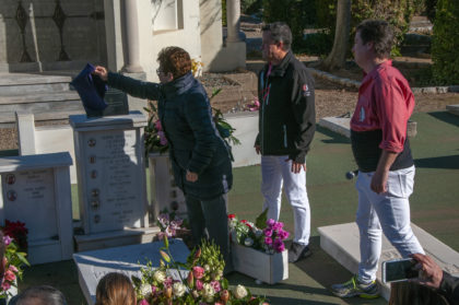 La Colla Vella tanca l'any Rabassó en el dia i hora del centenari de la mort del mític cap de colla.